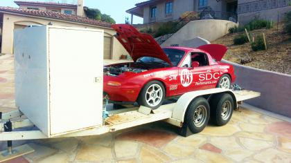 1992 Spec Miata Race Ready With Trailer