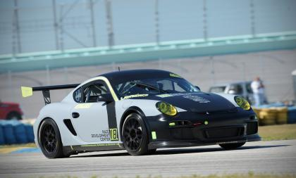 2006 Cayman S Race Car