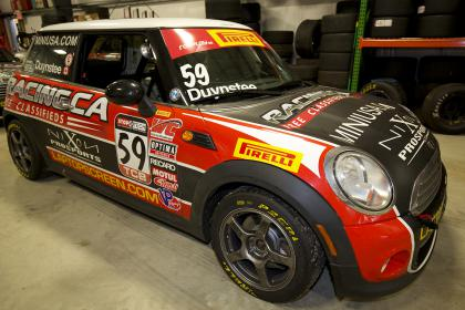 2011 B Spec Mini Cooper Pirelli World Challenge